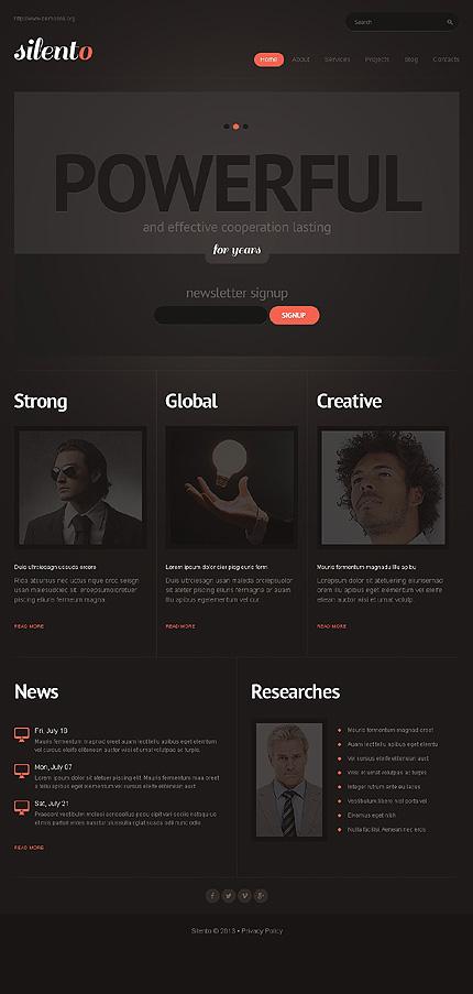 Elegant Insurance WordPress Theme