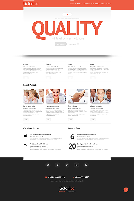 Management Solutions WordPress Theme