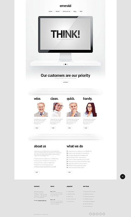 Consulting Services WordPress Theme