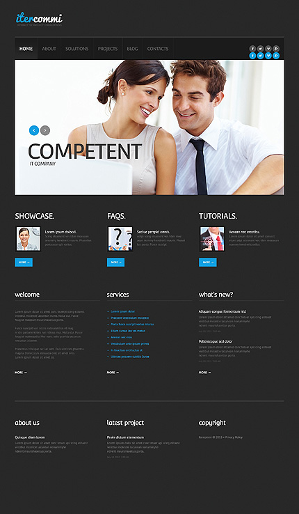 IT Responsive Business WordPress Theme