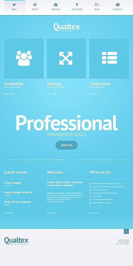 Management Company - WordPress Business Themes