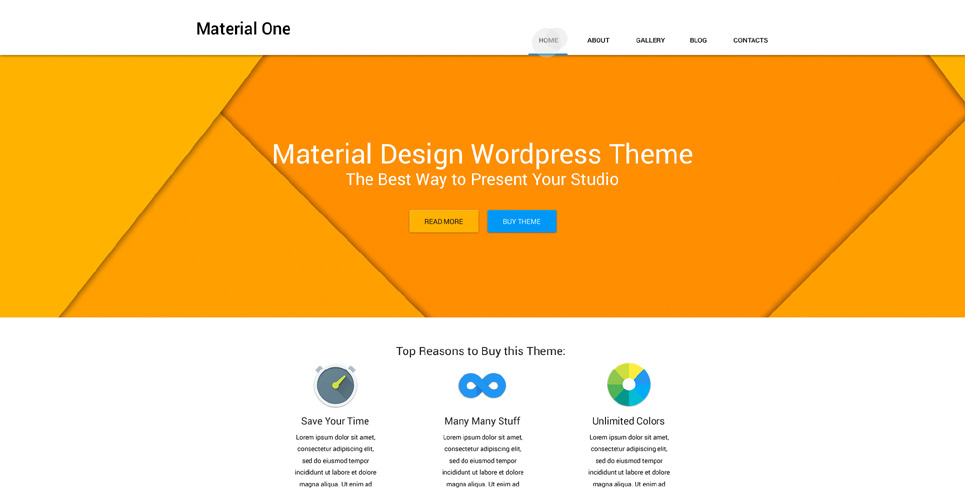 Web Design WP Theme