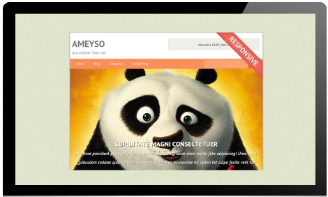 Ameyso - Free WordPress Theme