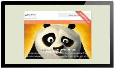 Ameyso - Free WordPress Theme