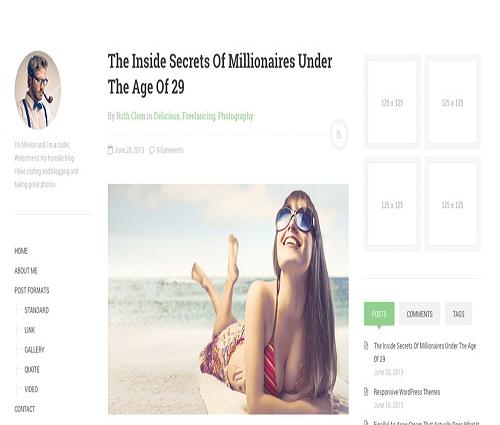 DW Minion - Free WordPress Theme