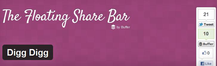 Digg Digg Social Sharing WordPress Plugin