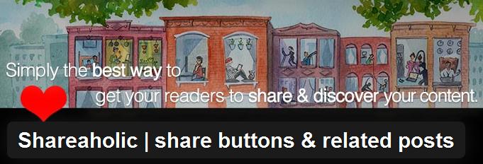 ShareHolic Social Plugin