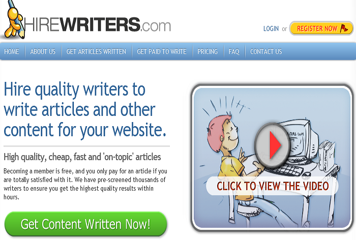 Landing Page for Inquisitr com to Hire Writers   Guaranteed  by Hellen M