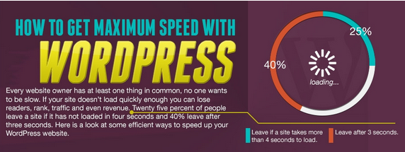 Speed Up Your WordPress Blog Quickly (Infographic)