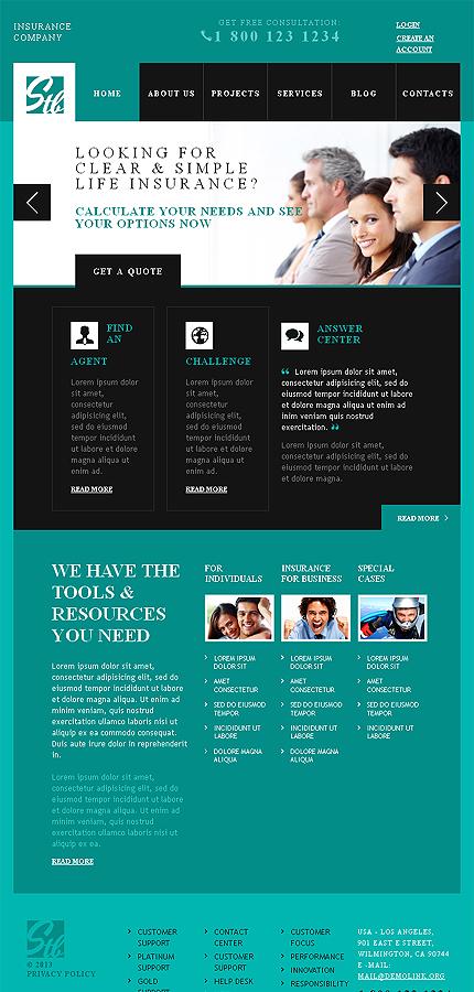 Advisor Insurance WordPress Themes