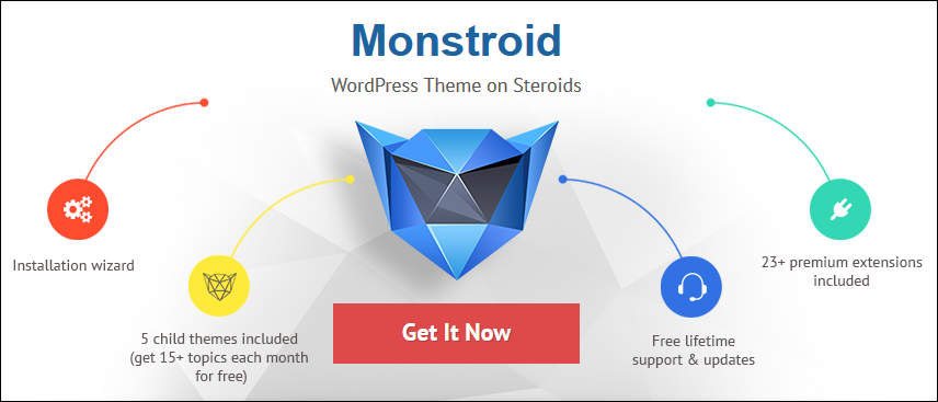 Monstroid WordPress Theme Review