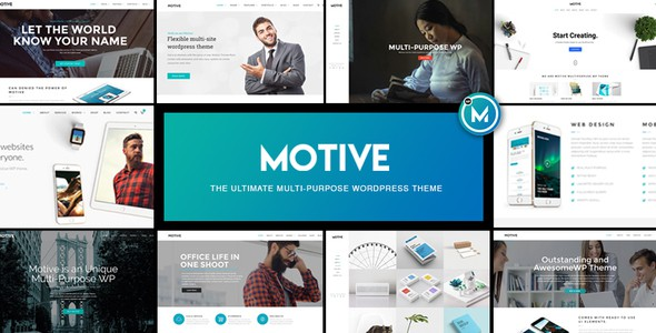 Top 25 best wordpress business themes in 2017 for business websites motive multipurpose wordpress theme accmission Choice Image