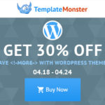 April Sale is Here! 30% OFF All WordPress Themes