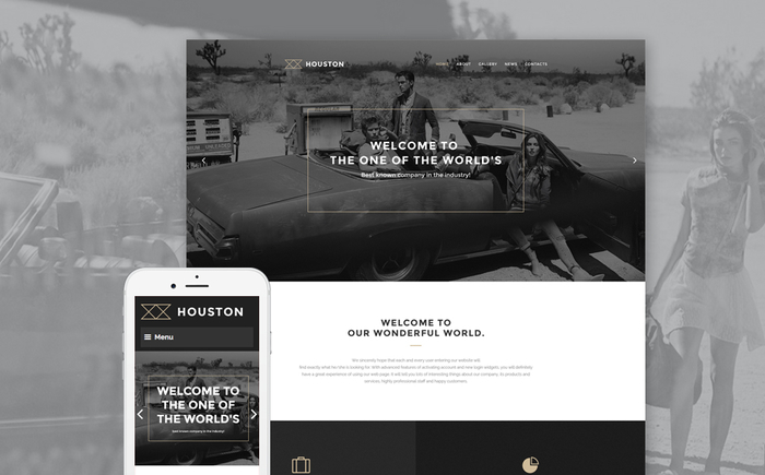 Business Service WordPress Theme
