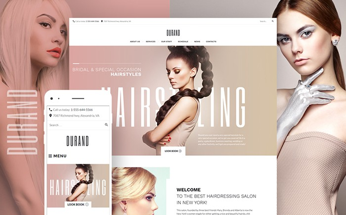 Top 20 Spa & Beauty Salon WordPress Themes