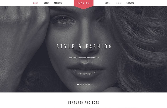 Fashion - Beautiful Stylist theme