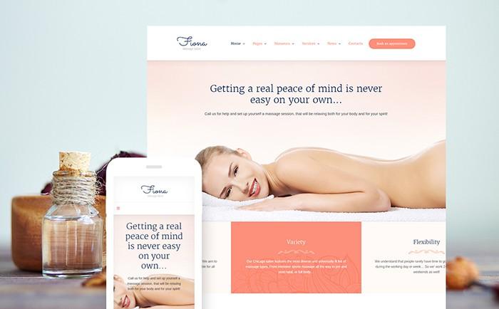 Fiona - Beauty Spa and Massage Salon WP template