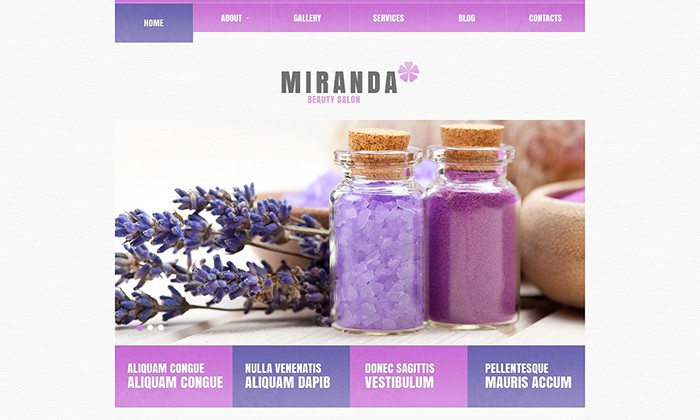 Marinda - Beauty Salon WP Theme