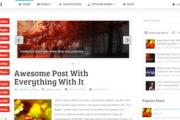 Sensational Magazine WordPress Theme