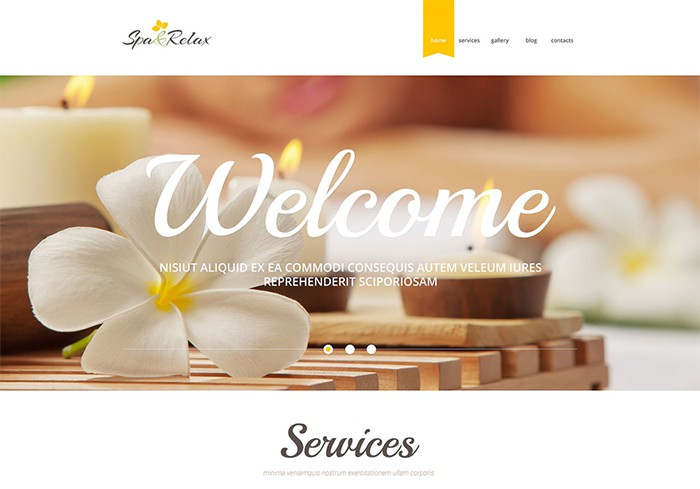 Spa & Relax - Spa Salon Theme