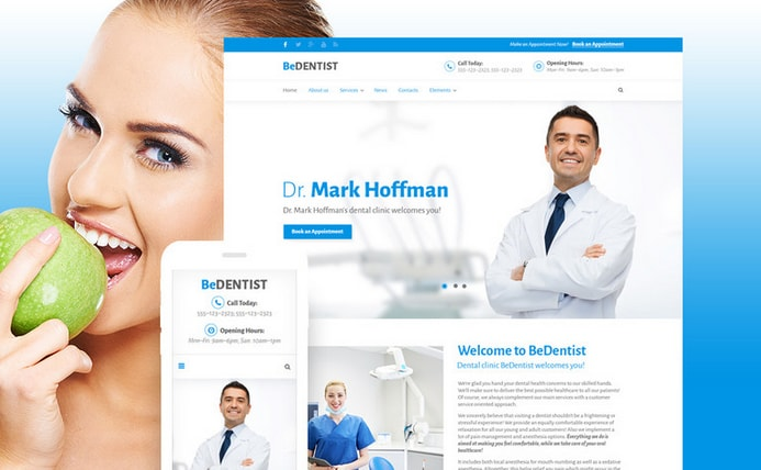 bedentist medical business theme