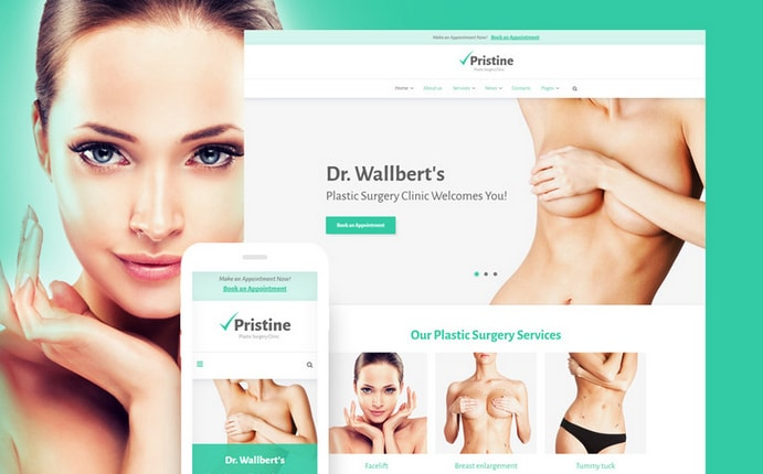 pristne medical business wordpress themes