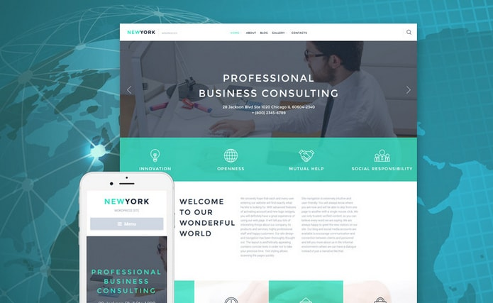 WordPress Corporate Business Themes