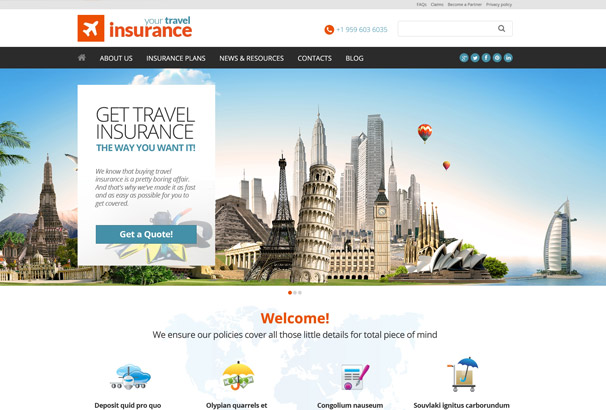your-travel-insurance-theme