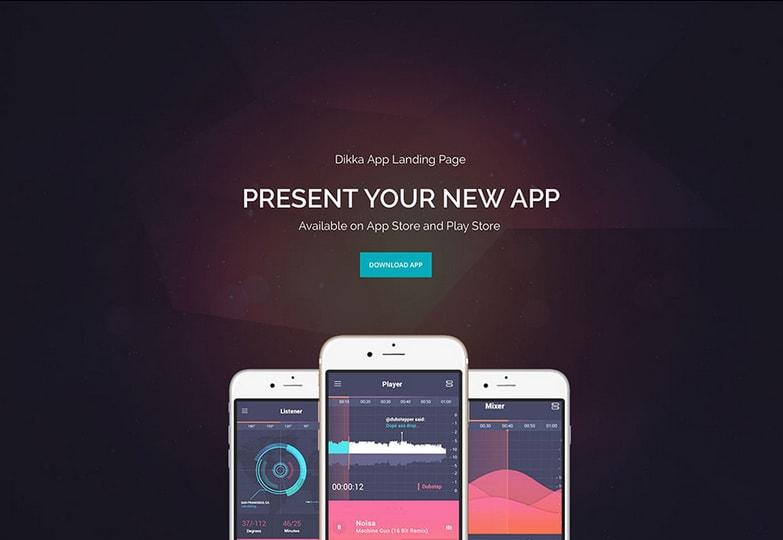 dikka-multipurpose-app-landing-page-theme