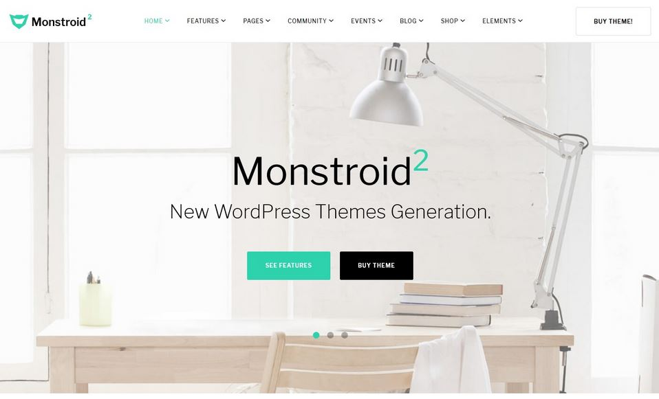 monstroid2 multipurpose responsive WordPress theme