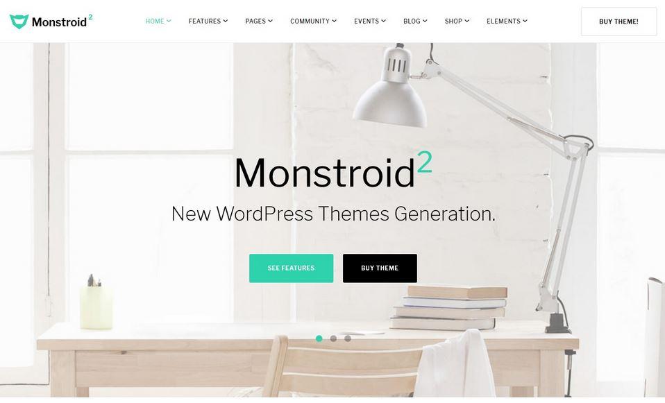 monstroid2 multipurpose responsive WordPress theme