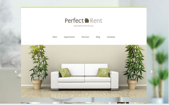 perfect rent real estate responsive wp theme