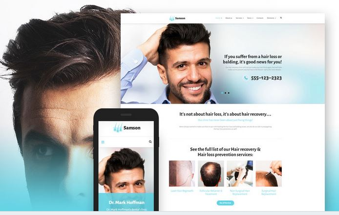 samson responsive business wordpress theme
