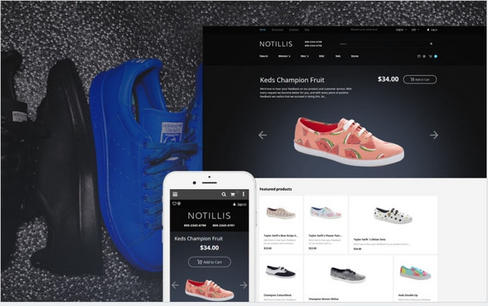 magento-template-for-shoes-store