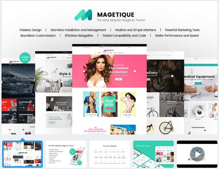 Magetique - Responsive Magento 2 Theme