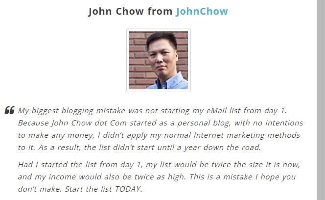 johnchow testimonial