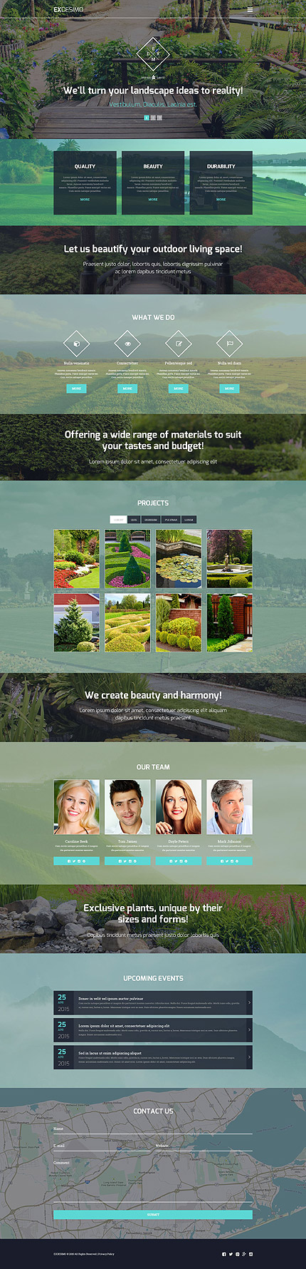 Best WordPress themes - Exterior Design WP Template